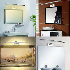 Applique Lampe Salle de Bain Miroir Mur 5W 7W 9W 15W LED Ajustable IP44 5050