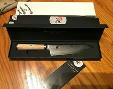 "ZWILLING JA Henckels MIYABI Birchwood SG2 7"" ROCKING SANTOKU Knife 34388-183 NEW"