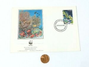 1986 WWF World Wide Fund for Nature FDC
