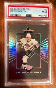 1994 Leaf Limited Wayne Gretzky #10 _ PSA 9 Mint !🔥 POP 15 _ HOF _ KINGS _ GOAT