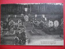 BADONVILLER  :  Le cimetière du Village Nègre.