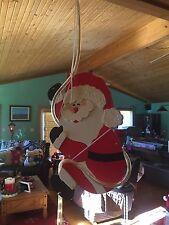 Lighted Christmas Hanging Santa/reindeer Decorations