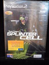 Tom Clancy's Splinter Cell para playstation 2 nuevo y precintado