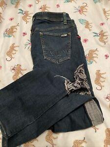 Womens Volcom Slim Straight Leg Size 31 Jeans