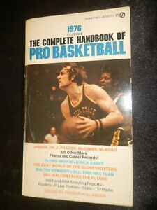 1976 Complete Handbook of Pro Basketball Photos,Stats,Features & Player Profiles