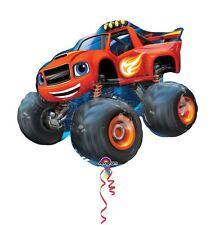 "Blaze Supershape Foil Balloon 34"" Kids Party Celebration"