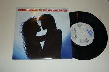 """MICHAEL JACKSON - The Way You Make Me Feel - 1987 7"""""""