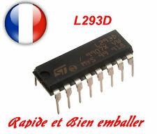 L293D Motor Driver (Suitable for Arduino Projects, Motor Control, Robotics)