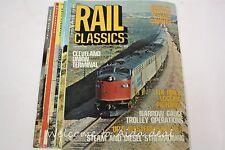 Rail Classics Magazine (7 Issues) 1976