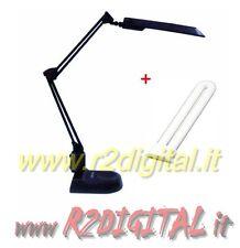 LAMPE LAMPE SUR PIED 11watt bras articulé serre-joint tournant pour grand bureau
