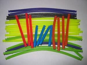 K'NEX - 32 flexible / bendy rods, various lengths