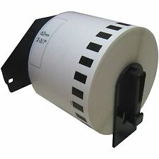 (1) Roll DK-2205 Brother Compatible Labels.  (Includes black plastic core)