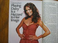 1985 TV Guide (CATHERINE  BACH/ELVIS  PRESLEY/THE  THORN  BIRDS/FARRAH FAWCETT