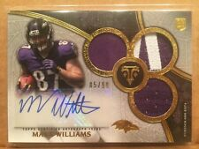 2015 Topps Triple Threads MAXX WILLIAMS RC AUTO TRIPLE 2 COLOR PATCH JERSEY /99