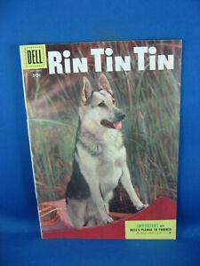 RIN TIN TIN 10 F VF PHOTO CVR GERMAN SHEPHERD 1955