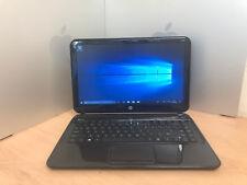 "14"" HP Envy 4 i5 3317U 4GB 500GB HDD WINDOWS 10 LAPTOP BLACK 13"" WORKING UK"