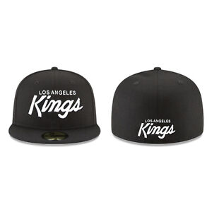 Los Angeles Kings LA NHL Authentic New Era 59FIFTY Fitted Cap 5950 N.W.A Script