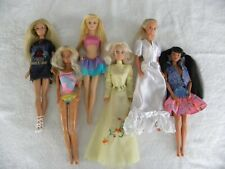 MIXED LOT OF BARBIE DOLLS, VINTAGE 80's, 90's and 2000's