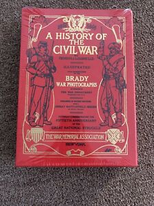 NEW Sealed Easton Press A HISTORY OF THE CIVIL WAR Lossing And Brady