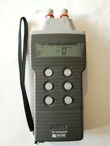 Comark C9555 digital pressure meter manometer, 0 to 2 Bar range 0-2000 mB