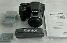 Canon Powershot Digital Camera 16.0 MP Black Wi-Fi HD 50x Zoom - SX530HS