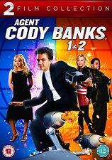 AGENT CODY BANKS DVD DOUBLE PACK PART 1 2 DESTINATION LONDON Brand New UK Releas