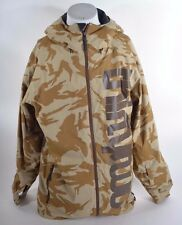 2014 MENS THIRTYTWO SHILOH 2 SNOWBOARD JACKET $280 L safari camo brown USED