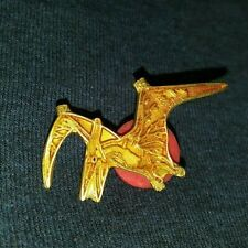 Vintage Flying Archaeopteryx Dinosaur Collectible Enamel Pin Rare L@K