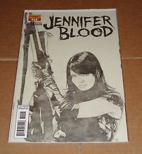 Jennifer Blood #11 Tim Bradstreet Sketch Variant Edition 1st Print Garth Ennis
