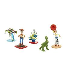 Toy Story Classic Figurine Set 5 x Disney Figures Woody Buzz Jessie Aliens Rex