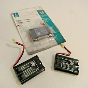 Cordless Phone Battery 76401 Lot of 3 Batteries