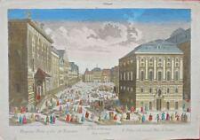 Vienne: Vue du Palais et de la grande Place de Vienne/18éme
