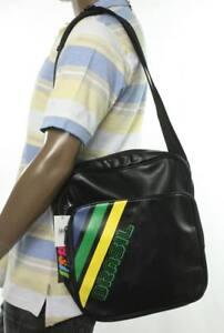 New Mens Brasil Square Briefcase Messenger Shoulder Bag