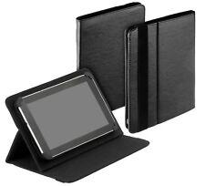 Uni Tablet Book Style Tasche black f Kiano SlimTab 8 3G Case Etui Schutz Hülle