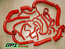 26PCS SILICONE TURBO HOSE KIT TOYOTA SUPRA MK3 MA70 7MGE/7MGTE/7M-GT RED
