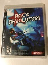 ROCK REVOLUTION. PlayStation 3.  Manual Included