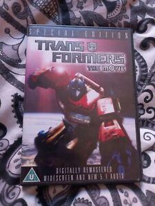 Transformers - The Movie (DVD, 2007)