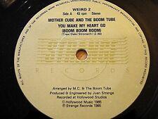 "MOTHER CUBE & THE BOOM TUBE - YOU MAKE MY HEART GO (BOOM BOOM BOOM)  7"" VINYL"