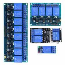 1 2 4 8 Channel 5V Relay Shield Module Board for Arduino Raspberry Pi ARM yk