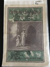 The Peoples Home Journal April 1908 Art Cover F. M. Lupton Publisher New York