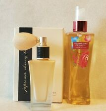 Bath Body Works Japanese Cherry Blossom Radiant Powder Spray Fragrance Mist Lot