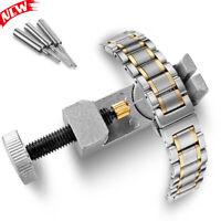 New Metal Adjustable Watch Band Strap Bracelet Link Pin Remover Repair Tool Set
