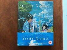 Your Name Blu-ray Steelbook. UK Edition. Brand New & Sealed.