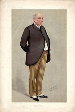 VANITY FAIR CARTOONS  - SIR GEORGE FINDLAY, LONDON NORTH WESTERN RAIL WAY (1892)