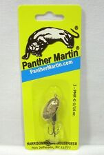 Panther Martin 1/16oz Gold Black Chartreuse Dots Spinner Fishing Lure