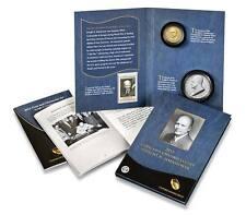 2015 Eisenhower Coin & Chronicles Set, Dollar & Silver Medal - ANACS Graded 70