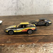 Matchbox Datsun 280 ZX Turbo 1982 Doors Open Vintage 2x Lot B1