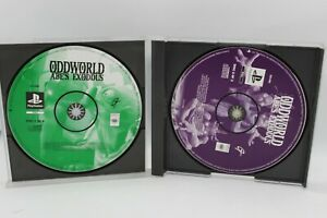 ODDWORLD ABE'S EXODDUS PS1 GAME DISC ONLY - PAL - FREE POSTAGE