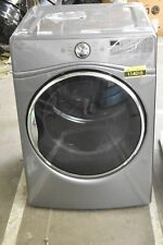 """Whirlpool Wed92Hefc 27"""" Chrome Shadow Front Load Electric Dryer #114016"""