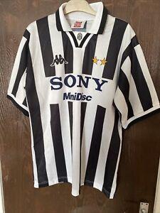 Juventus European Home 1996/97 Football Shirt XL